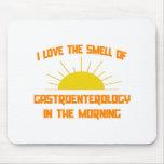 Olor de la gastroenterología por la mañana alfombrilla de ratones