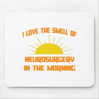 Olor de la neurocirugía por la mañana alfombrillas de ratón