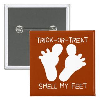 Olor de la Truco-o-Invitación mi botón de los pies Pin
