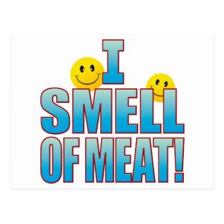 Olor de la vida B de la carne Tarjetas Postales