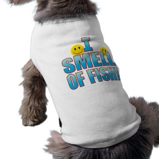 Olor de la vida B de los pescados Playera Sin Mangas Para Perro