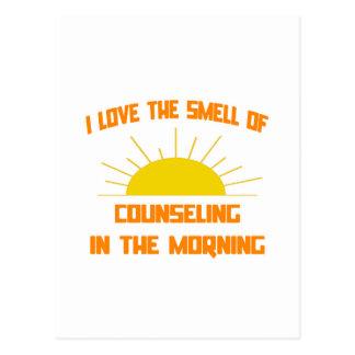 Olor del asesoramiento por la mañana postal
