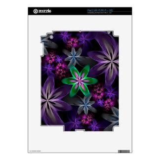Olor del cielo, jardín de flor del fractal calcomanías para el iPad 2