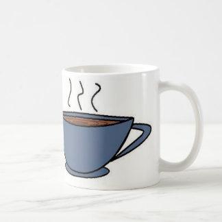 Olor fresco: Café Taza Básica Blanca