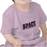 Olores del espacio como las estrellas camiseta