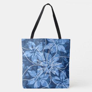 Olowalu Hibiscus Hawaiian Camo Beach Bag