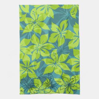 Olowalu Hibiscus Hawaiian Kitchen Towel