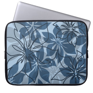 Olowalu Hibiscus Hawaiian Neoprene Wetsuit Laptop Sleeve