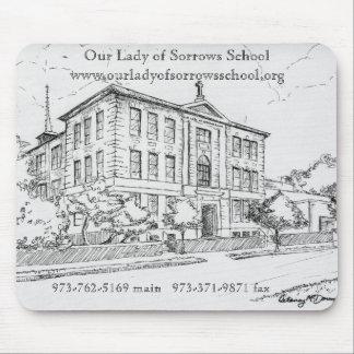 OLS School Sketch Mouse Pad