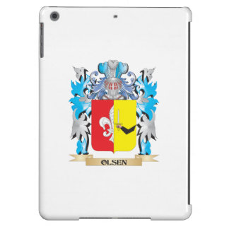 Olsen Coat of Arms - Family Crest Cover For iPad Air
