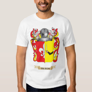 Olson Coat of Arms (Family Crest) Tee Shirts