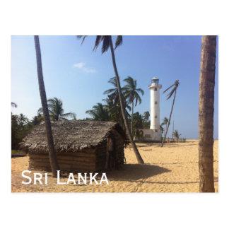 Oluvil Lighthouse, Sri Lanka Postcard