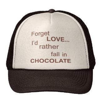 olvidar-amor gorras de camionero