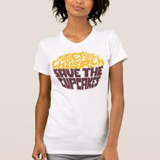 Olvide a los niños - oro+Chocolate Camiseta