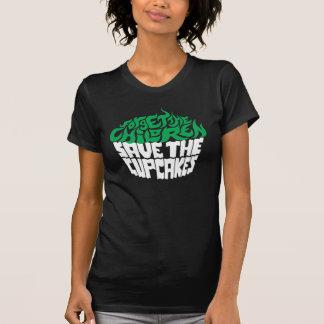 Olvide a los niños - verde+Vainilla Camisetas