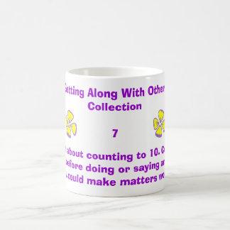 Olvide la cuenta a la cuenta 10. a 1… taza
