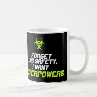 Olvide la seguridad del laboratorio que quiero la taza clásica