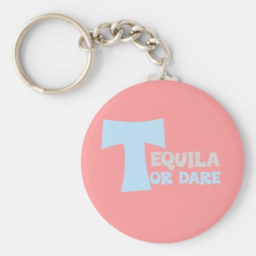Olvide la verdad que quiero tequila llavero redondo tipo pin