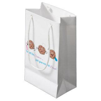 Olvide las galletas bolsa de regalo pequeña