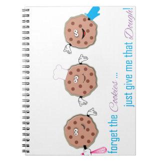 Olvide las galletas notebook