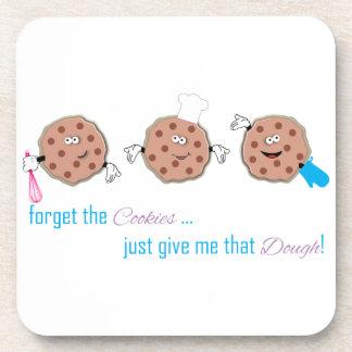 Olvide las galletas posavasos de bebidas