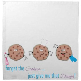 Olvide las galletas servilletas de papel