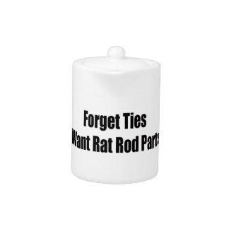 Olvide los lazos que quiero las piezas de Rod de