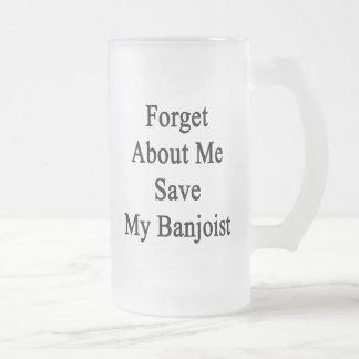 Olvide mí la reserva mi Banjoist Tazas De Café