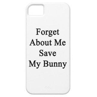 Olvide mí la reserva mi conejito iPhone 5 Case-Mate cárcasas