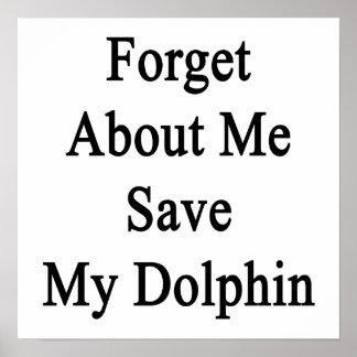 Olvide mí la reserva mi delfín impresiones