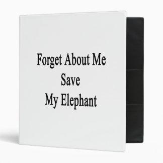 """Olvide mí la reserva mi elefante carpeta 1"""""""