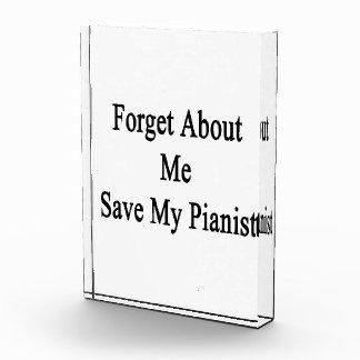 Olvide mí la reserva mi pianista