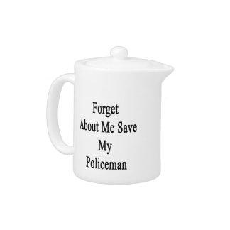Olvide mí la reserva mi policía