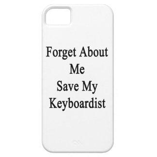 Olvide mí la reserva mi teclista iPhone 5 Case-Mate cobertura