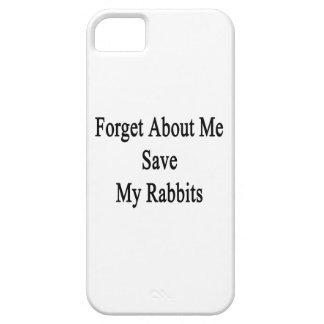 Olvide mí la reserva mis conejos iPhone 5 Case-Mate carcasa