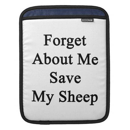 Olvide mí la reserva mis ovejas fundas para iPads