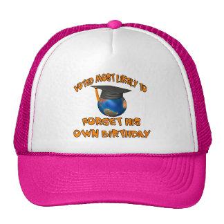 Olvide su cumpleaños gorras