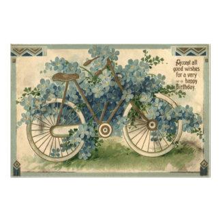 Olvídeme no cumpleaños de la bicicleta fotografías