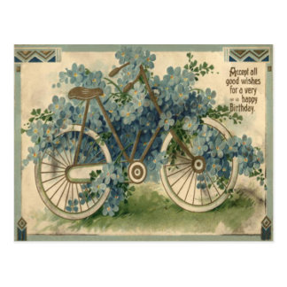 Olvídeme no cumpleaños de la bicicleta postal