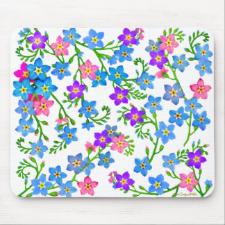 Olvídeme no las flores Mousepad del jardín