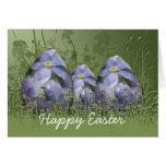 Olvídeme no tarjeta del huevo de Pascua