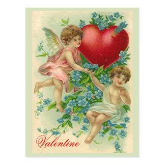 Olvídeme tarjeta del día de San Valentín del nudo Postales