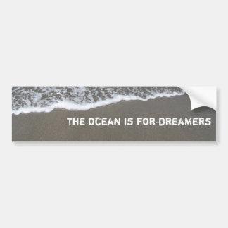 olymic penn. 027, the ocean is for dreamers car bumper sticker