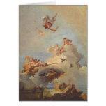 Olymp by Giovanni Battista Tiepolo Greeting Card