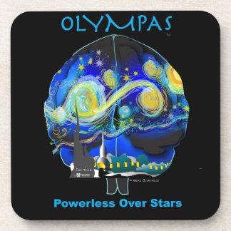 Olympas Starry Night Beverage Coaster