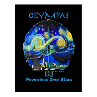 Olympas Starry Night Postcard