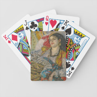Olympia, 1863 (oil on canvas) bicycle playing cards