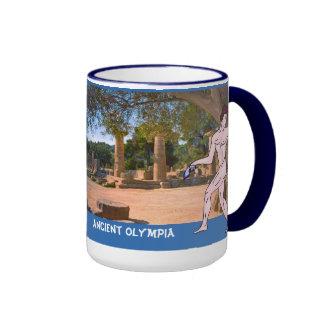 Olympia antiguo taza de café