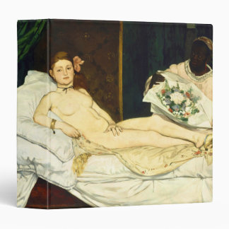 Olympia by Edouard Manet Vinyl Binders