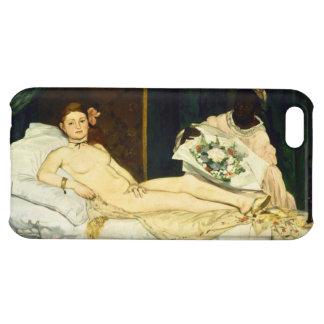 Olympia by Edouard Manet iPhone 5C Cases